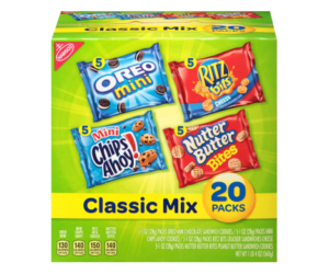 Nabisco Classic Cookies Variety Pack 20ct