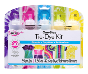 Tie Die Ultimate 5-Color One Step Kit
