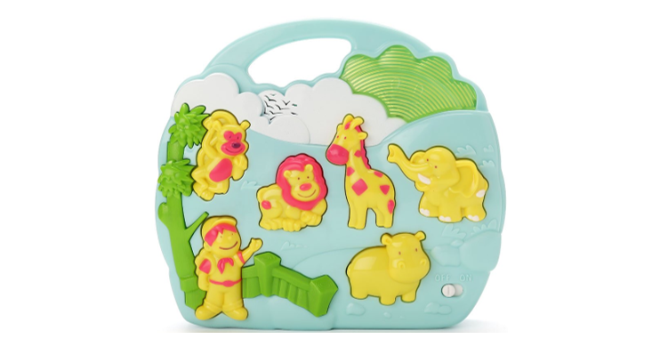 Baby Musical Toy with Zoo Animal Sounds