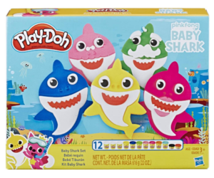 Baby Shark Play-Doh 12 Can Playset