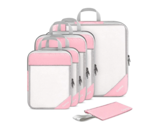 Compression Packing Cubes in 3 Color Choices