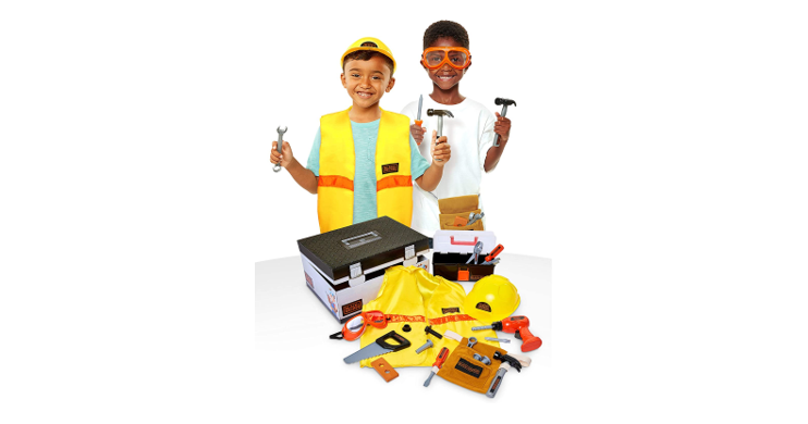 Construction Dress Up Trunk from Black & Decker