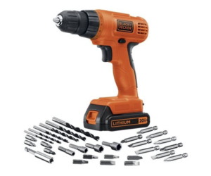 Cordless Drill & Driver from Black & Decker