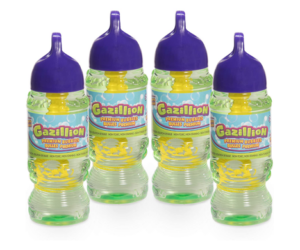 Gazillion Bubbles Solution 10 oz 4 Pack