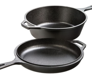 Lodge Cast Iron Combo Cooker Set
