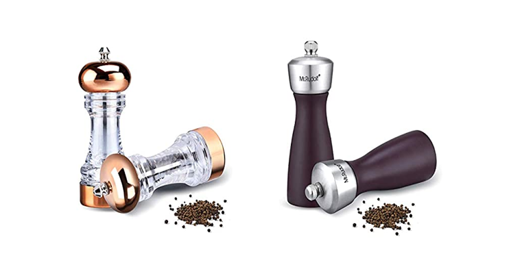Salt Pepper Grinder Sets