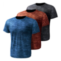 Compression Workout Shirts for Men, 3 Pack