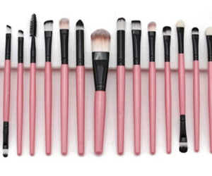 Cosmetic Makeup Brushes, 20pc Set, 11 Options