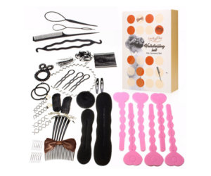 Hair Styling Accessories Kit, 19 Piece Set