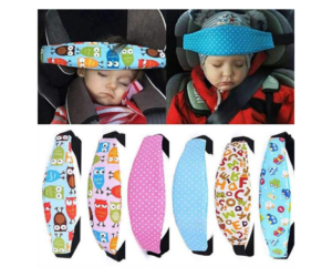 Headrest Safety Belt in 6 Color Choices