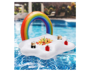 Inflatable Cloud Float for Snacks & Drinks