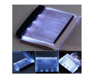 LED Book Reading Light, Lightweight & Convenient