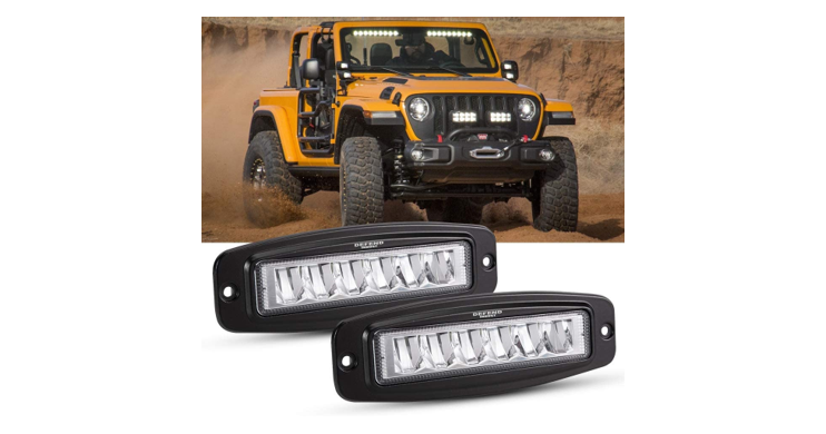 LED Work Lights for Trucks, Jeeps & Boats