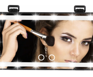 Lighted Makeup Mirror for Auto Visors