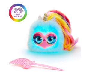 Lumies Pixie Pop Interactive Pom Pom Doll