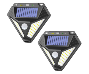 Solar Outdoor Lights with Motion Sensing