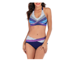 Two Piece Swimsuits with Push-Up Bra