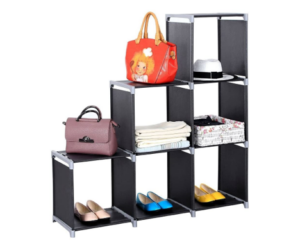 3 Tier Storage Cubes with 6 Compartments