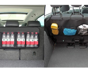 Auto Back Seat Organizer with Multiple Pockets