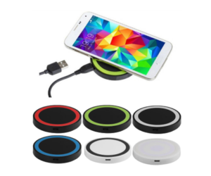 Cell Phone Charging Pad, in 6 Color Choices