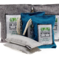 Charcoal Air Purifying Bags Made of Bamboo