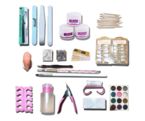 Complete Manicure Set with Over 30 Pieces