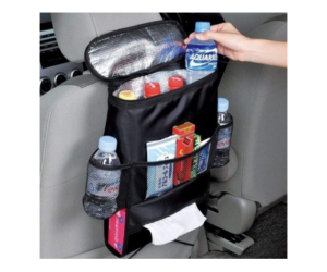 Insulated Back Seat Organizer with Multi-Pockets