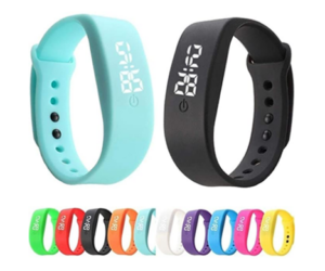 LED Silicone Smart Watch, in 10 Color Choices
