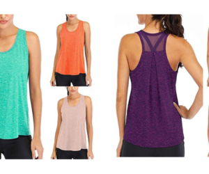 Loose Sleeveless Tees for Women in 12 Colors