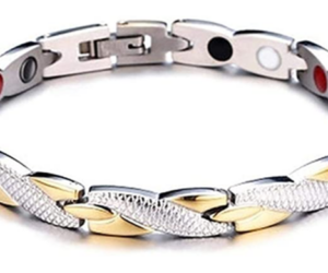 Magnetic Health Bracelet of Titanium Steel