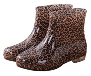 PVC Rain Boots in 5 Color Choices