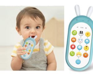 Smart Phone Baby Silicone Learning Toy