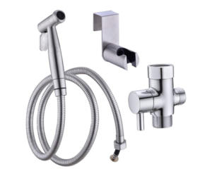 Toilet Bidet Stainless Steel Sprayer Set