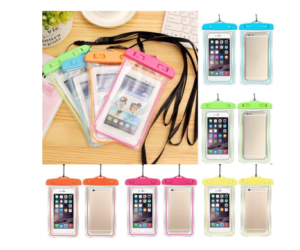 Waterproof Cell Phone Pouch, in 8 Colors