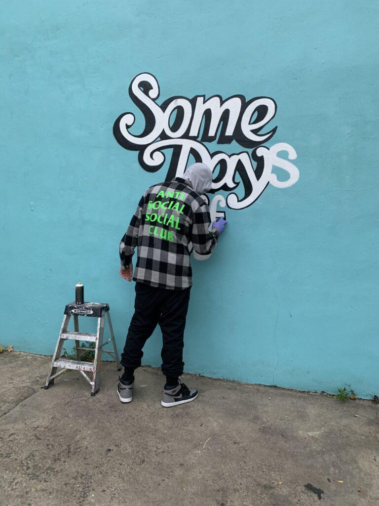 #SomeDaysOff Typography by NOVER