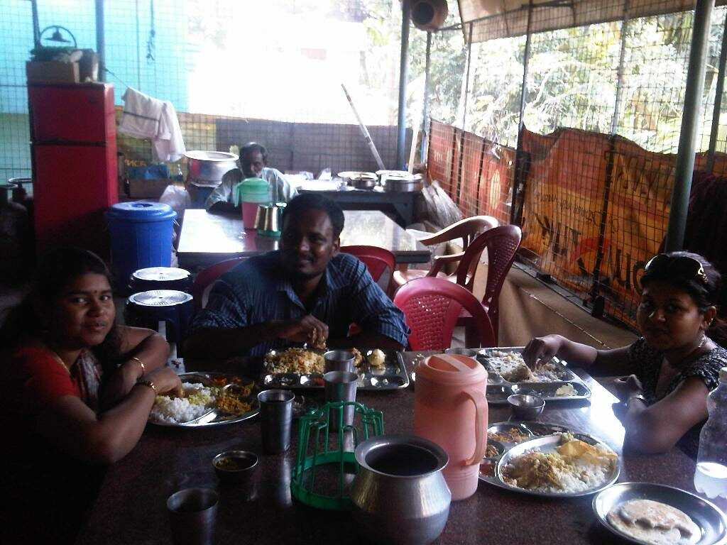 Lunch at Kovalam