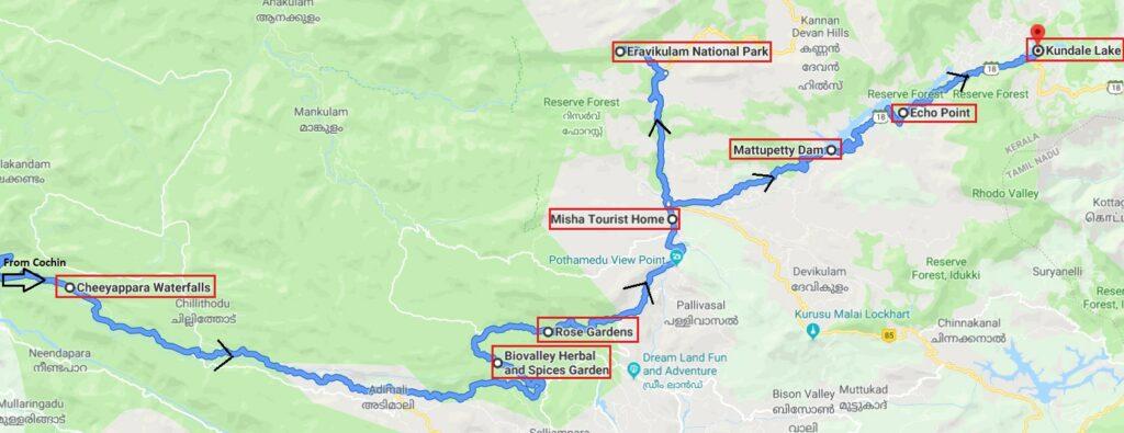 Munnar-Itinerary