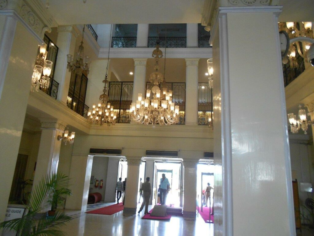 Main Hall at the entrance of Salarjung Museum