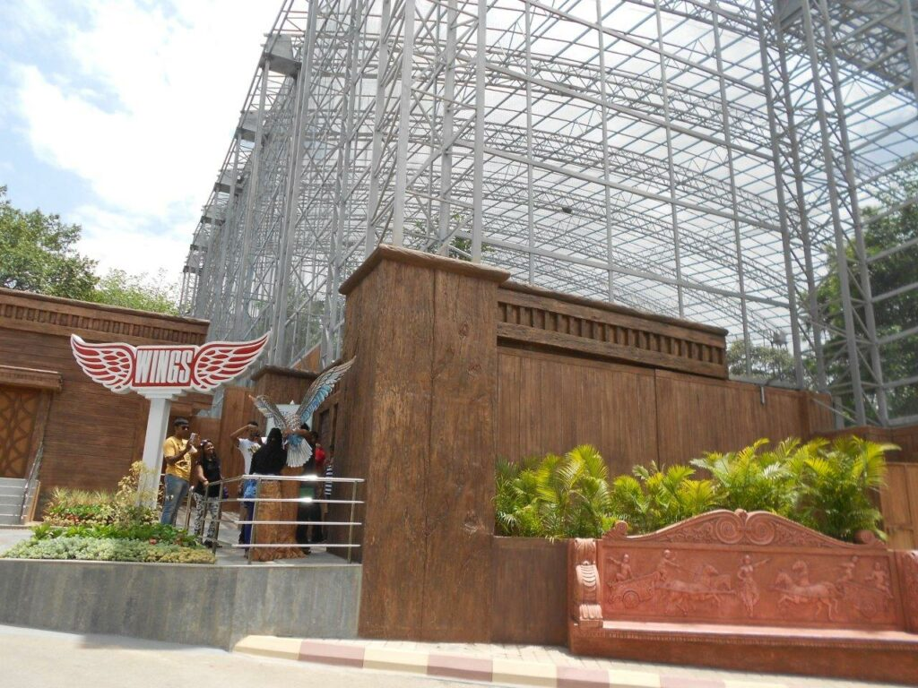 Birds enclosure 'Wings' at ramoji film city