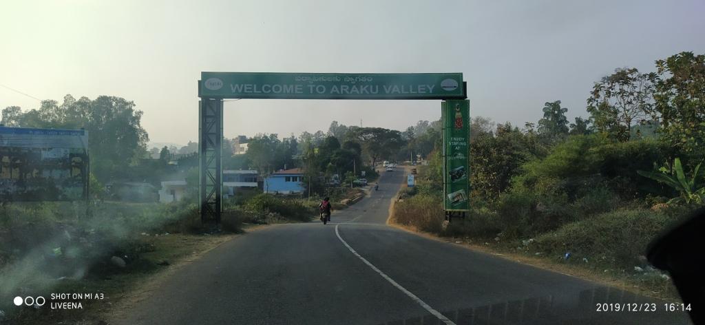 Entry to Araku Valley