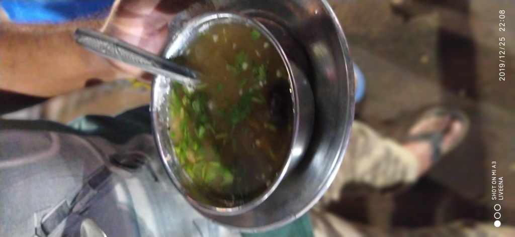 White pea soup