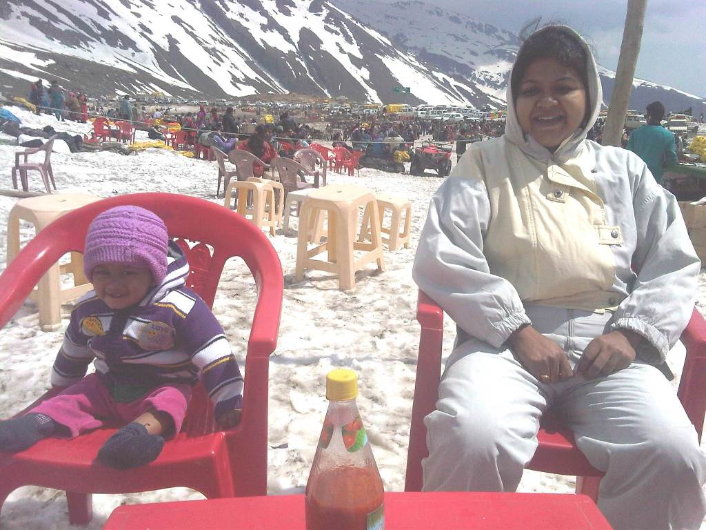 Rohtang-Snow Point
