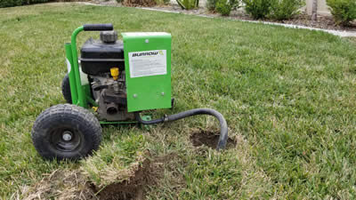 Carbon monoxide machine used to kill gophers