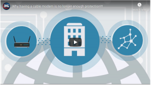 Why your business cable modem is not enough protection!