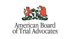 American Board of Trial Advocates Badge