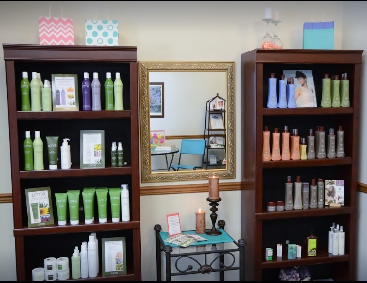 Product view of shelves'