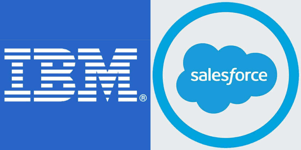 IBM and Salesforce
