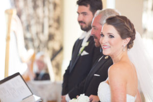 Alessandra Alessi Bridal Wedding Ceremony Portrait | Planner Parties a la Carte