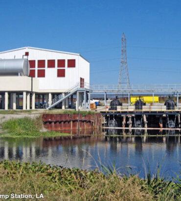 Bernard Parrish Pump Station, Louisiana