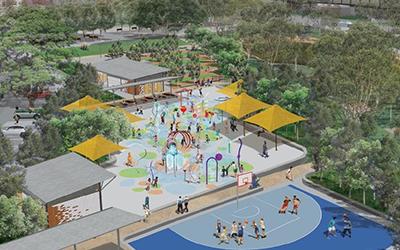 Creating a new splash at Oran Park